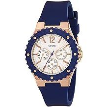 Guess–Reloj de pulsera analógico para mujer cuarzo silicona w0149l5