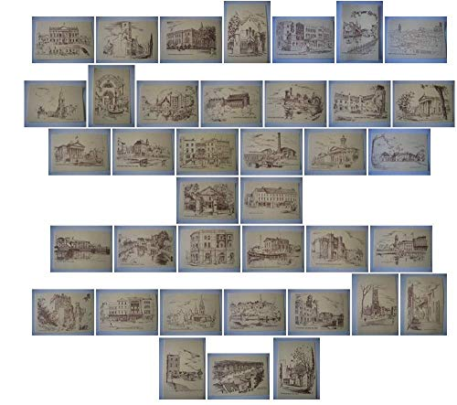Crawford Muster (Bwr Gladys Leach Set 37 Postkarte Szenen Of Cork Irland)