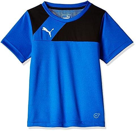 Puma Esqua T-Shirt Garçon Royal/Black FR : 14 ans (Taille Fabricant : 164)