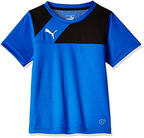 PUMA Kinder T-shirt Esquadra Training Jersey, royal-black, 140, 654379 23 (Shirt Fußball-jungen)