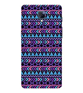 PrintVisa Designer Back Case Cover for OnePlus 3 :: OnePlus Three :: One Plus 3 (Girly Pattern Tribal Floral Fabric Culture Rajastan Andhra)