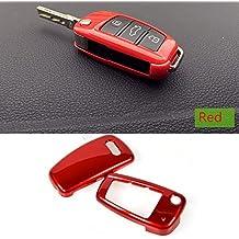 Cyale(TM) - Funda embellecedora de ABS para control remoto de llave de coche de repuesto para Audi A6L A1Q3, Q7, TT, R8, A3S3