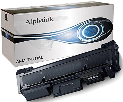 Alphaink AI-MLT-D116L Toner compatibile per Samsung Xpress SL-M2625D SL-M2626 SL-M2675F SL-M2675FN SL-M2676 SL-M2825ND SL-M2825DW SL-M2826 SL-M2875FD SL-M2875FW SL-M2875ND SL-M2876