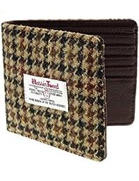 ca3668f0de Harris Tweed, da uomo, colore: marrone a portafogli LB2007COL27-poule