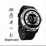 Orologio intelligente telefono,orologio intelligente anti-loss,chiamate hands-free smartwatch,Monitor di frequenza cardiaca,traspirabile confortevole,touchscreen capacitivo orologio sportivo per IOS Android Samsung telefono