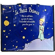 Diseño de bolsa de compra Le Petit Princeazul medianoche - 46x40x19 ...