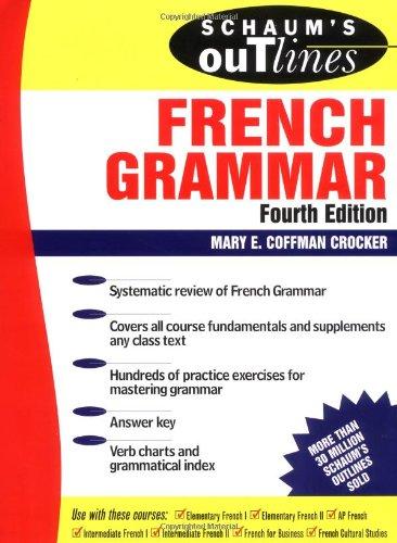 Schaum's Outline of French Grammar (Schaum's Outlines) Speaker-schaum