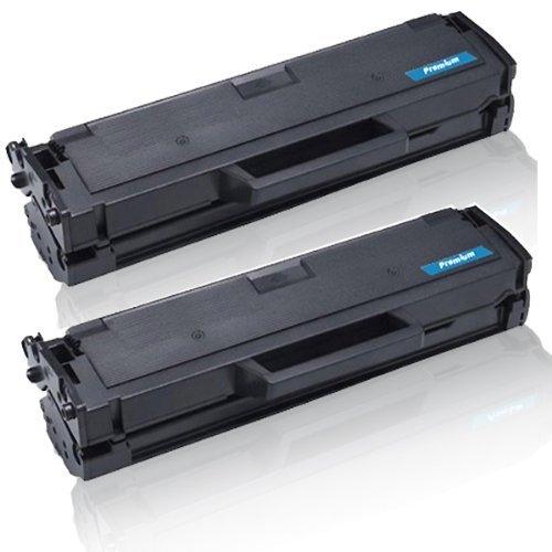 2x Kompatible Tonerkartuschen für Dell B1160 B1160W B1163W B1165NFW B-1160 B-1160W B-1163W B-1165NFW 59311108 HF44N Black Schwarz Doppelpack - Marke Print-Klex GmbH & Co.KG