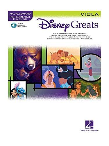 Disney Greats: Viola. Für Bratsche