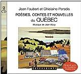 Cd poésies contes et nouvelles du Québec
