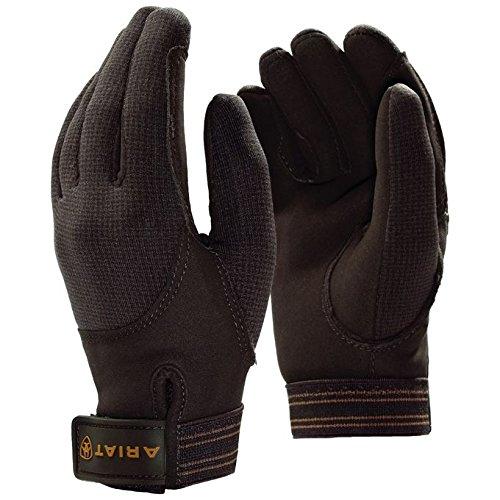 Ariat Winterhandschuh TEK Grip Handschuh gefüttert verstärkt schwarz braun Winter reiten