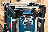 Bosch Professional GML 50 Akku-Baustellenradio (mit Ladefunktion, 50 Watt Nennleistung, USB, SD, 2x Aux-In, Aux-Out, 12 V Steckdose) 0601429600 - 5