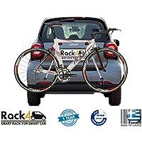 2Vélos Rack pour Smart Fortwo 453Cabrio–Coupe (Noir)