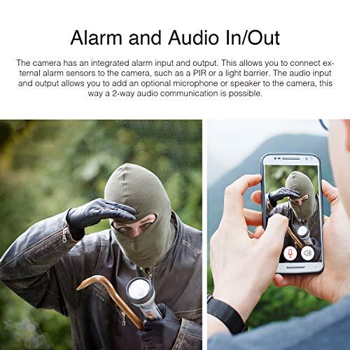 INSTAR IN-5907HD Wlan IP Kamera  – HD Sicherheitskamera für Außen - 6