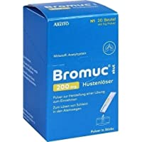 BROMUC akut 200 mg Hustenlöser Plv. z. H. e. L. z. Einn. 20 St preisvergleich bei billige-tabletten.eu