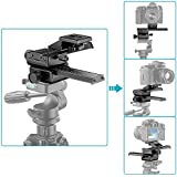 "Neewer Pro(Pro Version of Neewer Product) 4 Way Macro Focusing Focus Rail Slider /Close-up Shooting for Canon Nikon Pentax Olympus Sony Samsung and Other Digital SLR Camera and DC with Standard 1/4"" Screw Hole (Pro Version of Rail Slider)"