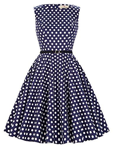 40er 50er 60er retro vintage rockabilly kleid festliches kleid sommerkleid petticoat kleid Größe 2XL CL6086-45