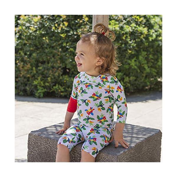 OCOI Traje De Baño para Bebé con Protección Solar UPF50+ Manga Larga – Mono/Bodysuit/Bañador Entero Una Pieza niña y… 8
