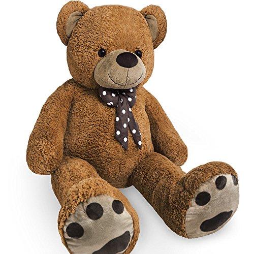 xl-teddy-bear-kids-soft-plush-teddies-giant-big-child-toys-dolls-teddies-brown