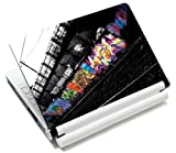 MySleeveDesign Notebook Skin Aufkleber Folie Sticker für Geräte der Größe 10,2 Zoll / 11,6 - 12,1 Zoll / 13,3 Zoll / 14 Zoll / 15,4 - 15,6 Zoll mit VERSCH. DESIGNS - Graffiti