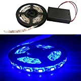iNextStation® 120LED SMD 5050 LED Waterproof Strip String Light 5V Battery Box Lamp (2.0M, Blue)