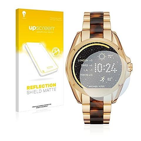 upscreen Reflection Shield Protection d'écran Mat Michael Kors Access Bradshaw Film Protecteur d'écran – Anti-Reflets, Anti-Trace
