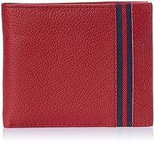 Lino Perros Red Men's Wallet (LMWL00355RED)