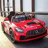 Best Mercedes-Benz enfants voitures électriques - Enfants Mercedes Benz GTR AMG permis Enfants Tour Review