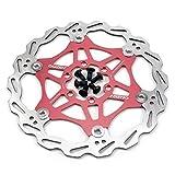 Hamimelon 160mm Fahrrad Scheibenbremse Bremsscheibe MTB Scheibenbremse rot
