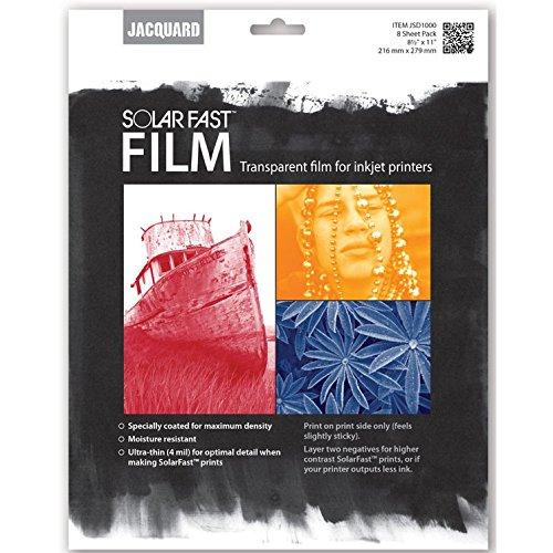 Jacquard Solarfast Film 8/Pkg-