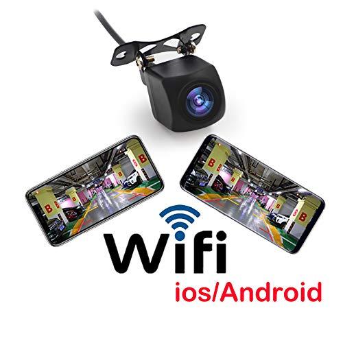TYZY WiFi drahtlose Auto-Rückfahrkamera mit HD-Nachtsichtfunktion für Toten Winkelort 12v 1.2w Wlan-video-rückfahrkamera