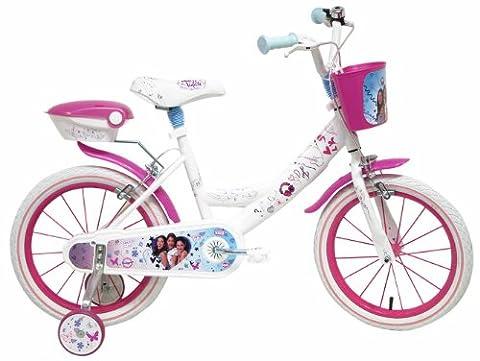 Disney Violetta Vélo Enfant Rose/Blanc 16