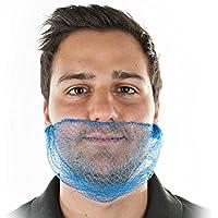 Detektierbarer Bartnetz BRC konform, Bartmaske auf Pappscheibe, Nylon- Bartmaske, universal, blau preisvergleich bei billige-tabletten.eu