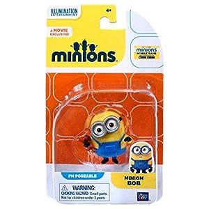 Minion Figura Minion Bob - PM Pueden adoptar cualquier postura - Minons Figura de el Película bob 10