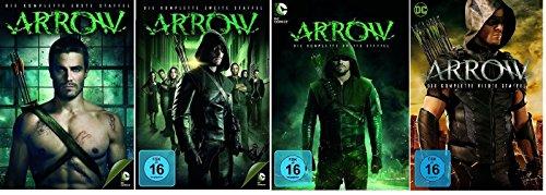 Arrow - Season / Staffel 1+2+3+4 * DVD Set (Dvd Arrow-staffel 2)