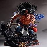 ALTcompluser Anime One Piece Four Emperors Figurine en PVC Kaido Statue Action Figurine de collection Cadeau idéal