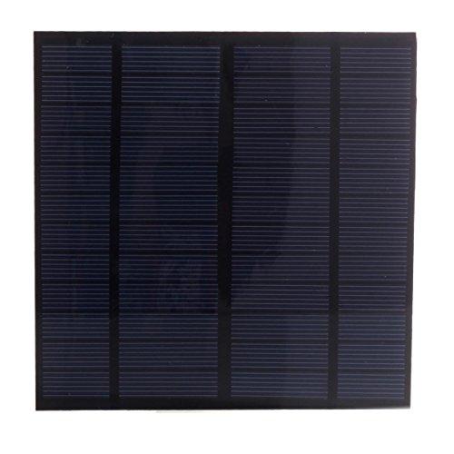 Características:  Panel solar de 3 W y 12 V que mide 145 mm x 145 mm. Para montar tu mismo, podrás usarlo para cargar baterías de 12 V. Energía 100 % silenciosa y respetuosa con el medio ambiente. Podrás utilizarlo para cargar tus baterías durante vi...