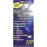 Lactaid 180 comprimés d'enzyme de lactase à action rapide