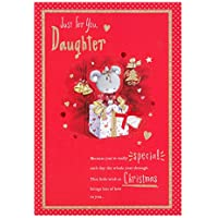 Hallmark Daughter Christmas Card 'Happiness' - Large