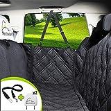 Meadowlark® Hundedecke für Auto Rückbank. Wasserdicht! Komplettschutz Comfort Autoschondecke für Hunde, Wasserfester Rücksitz Sitzbezug, ideale Autodecke für Haustiere, Schonbezüge Decke +2 Geschenke