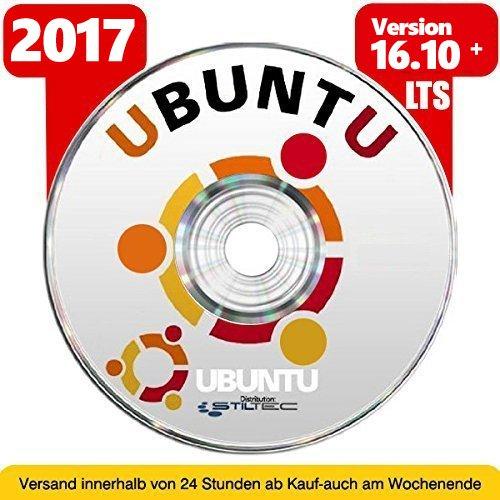 Betriebssystem UBUNTU LINUX für PC & Notebook NEU auf DVD 32 oder 64 Bit Vollständiges und Vollwertiges BETRIEBSSYSTEM ! ORIGINAL von STILTEC ©