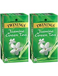 Twinings Jasmine And Green Tea, 25 Tea Bags- (Pack Of 2)