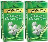 #9: Twinings Jasmine and Green Tea, 25 Tea Bags- (Pack of 2)
