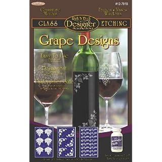 Armour Etch Designer Stencil Pak Grape Designs