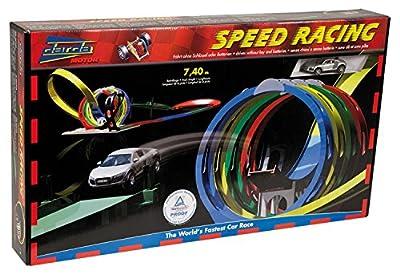 Darda 50142 - Speed Racing inklusive Audi R8, 730cm Streckenlänge von SIMM Spielwaren