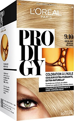 loral paris prodigy coloration permanente lhuile sans ammoniaque 910 - Keranove Coloration Sans Ammoniaque