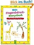 Mein Fingerabdruck-Stempelbuch: Für K...