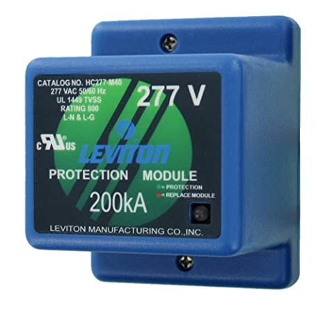 Leviton HC277-M40 7-Mode 30 WYE 4 Wire + Ground 277/480