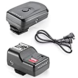 Neewer 16 Channel Wireless Remote FM Flash Speedlite Radio Trigger with 2.5mm PC Receiver for Canon, Nikon, Olympus, Pentax, Sigma, Sunpak, and Other Flash Units