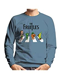The Fruitles Abbey Road Frutties Beatles Men's Sweatshirt